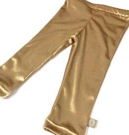 Broek - Legging - Goud - Velvet Gold