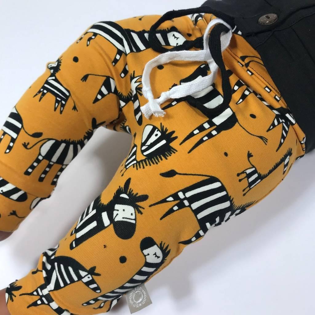 Baggy broekje met zebra's