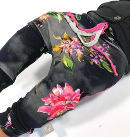 Broek - Drop crotch - Zwart - Shinrin Yoku