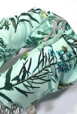 Harembroekje met print van veldbloemen