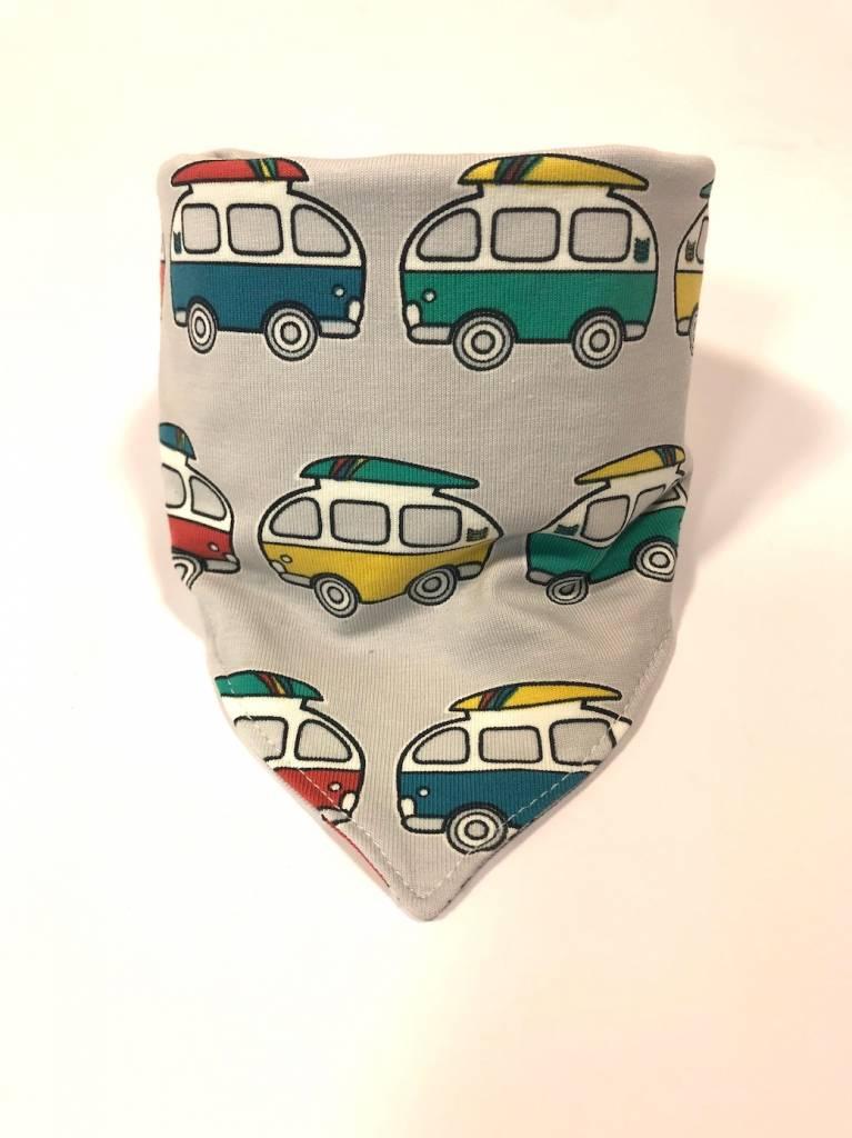 Slab bandana met vintage Volkswagen busjes
