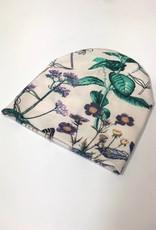 Newborn mutsje met mooie bloemenprint