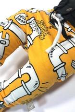 Drip Drop yellow / drop crotch