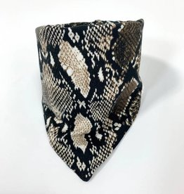 Ai Shé brown / slab bandana sjaal