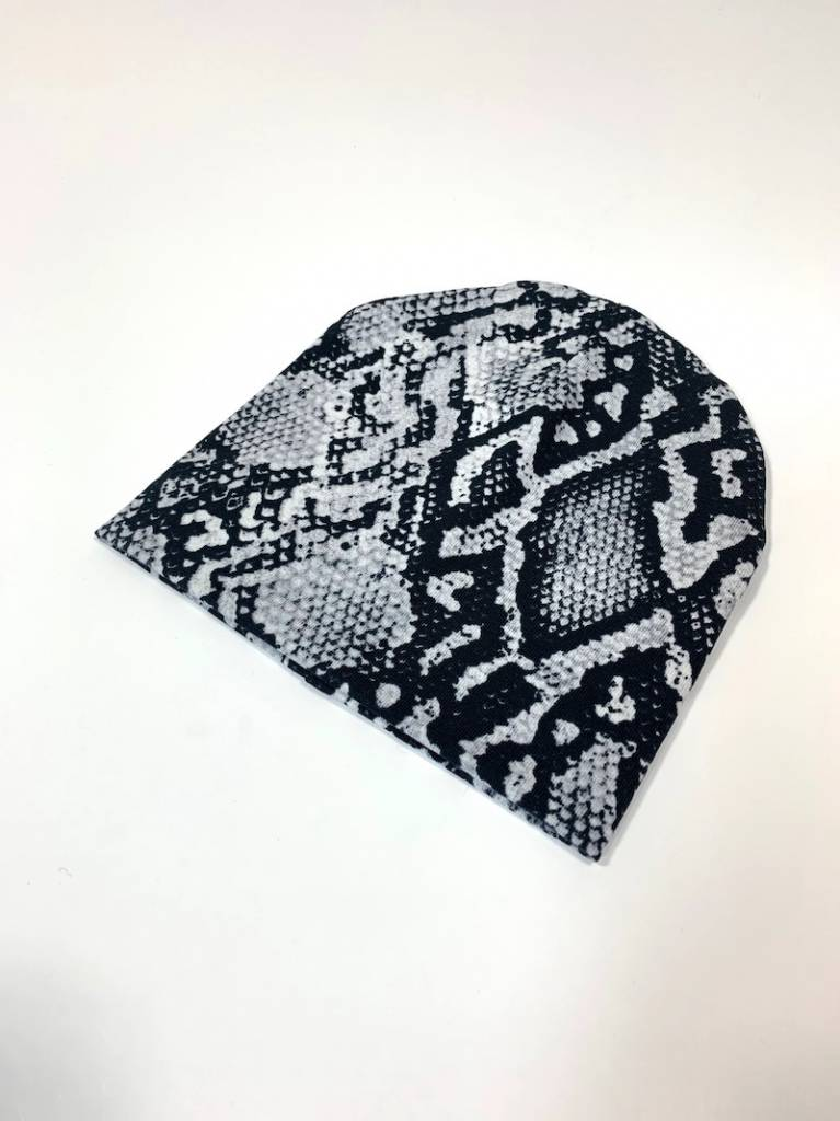 Ai Shé grey / newborn beanie / mutsje