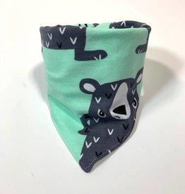 Sjaal - Slab bandana - Mint - Snappy Bear