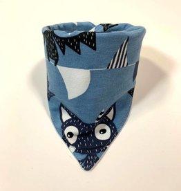 Sjaal - Slab bandana - Blauw -  Belfry Bats