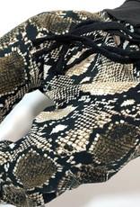 Harembroekje met slangenprint