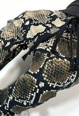 Baggy broekje met slangenprint
