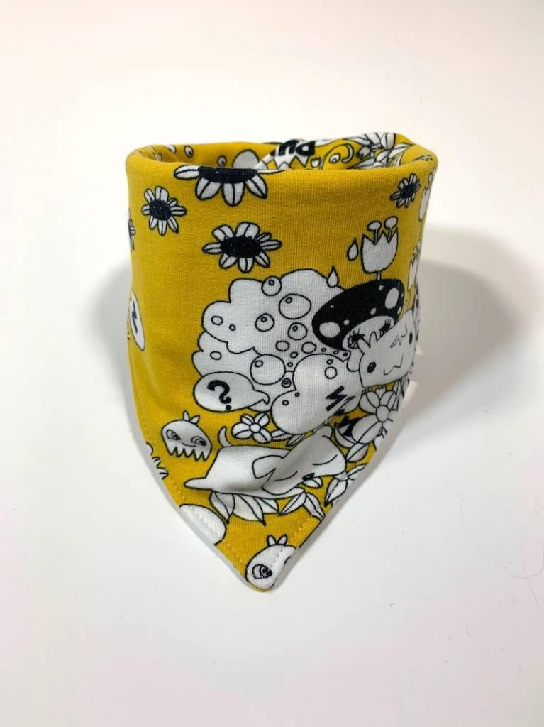Slab bandana sjaal met manga print