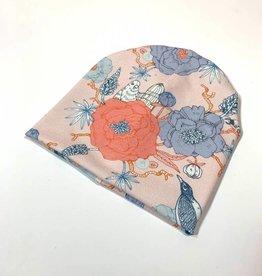 Xīn Chūn pink / newborn beanie / mutsje
