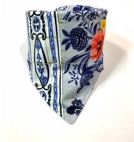 Sjaal - Slab bandana - Blauw - Royal Dutch