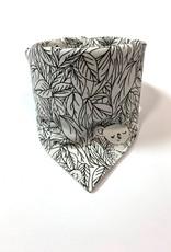 Slab bandana sjaal die kleur krijgt door UV