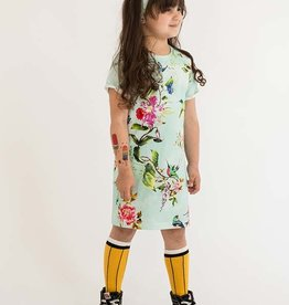 Jurk - Tee dress - Mint - Shinrin Yoku