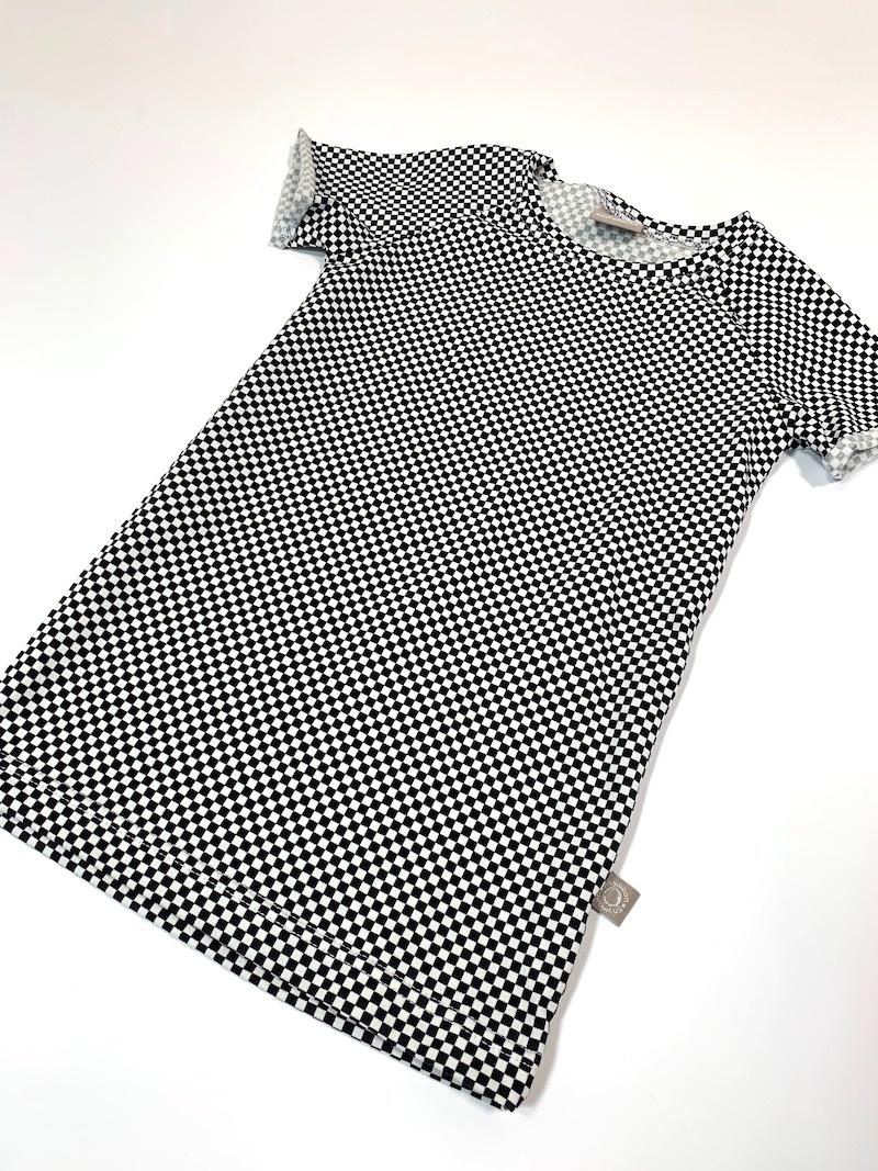Checkers Mini / Tee dress