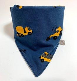 Sjaal - Slab bandana - Blauw - Tiny Builders