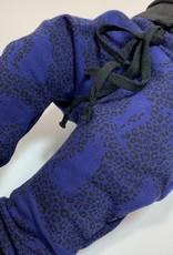 Harembroekje met blauwe panter print