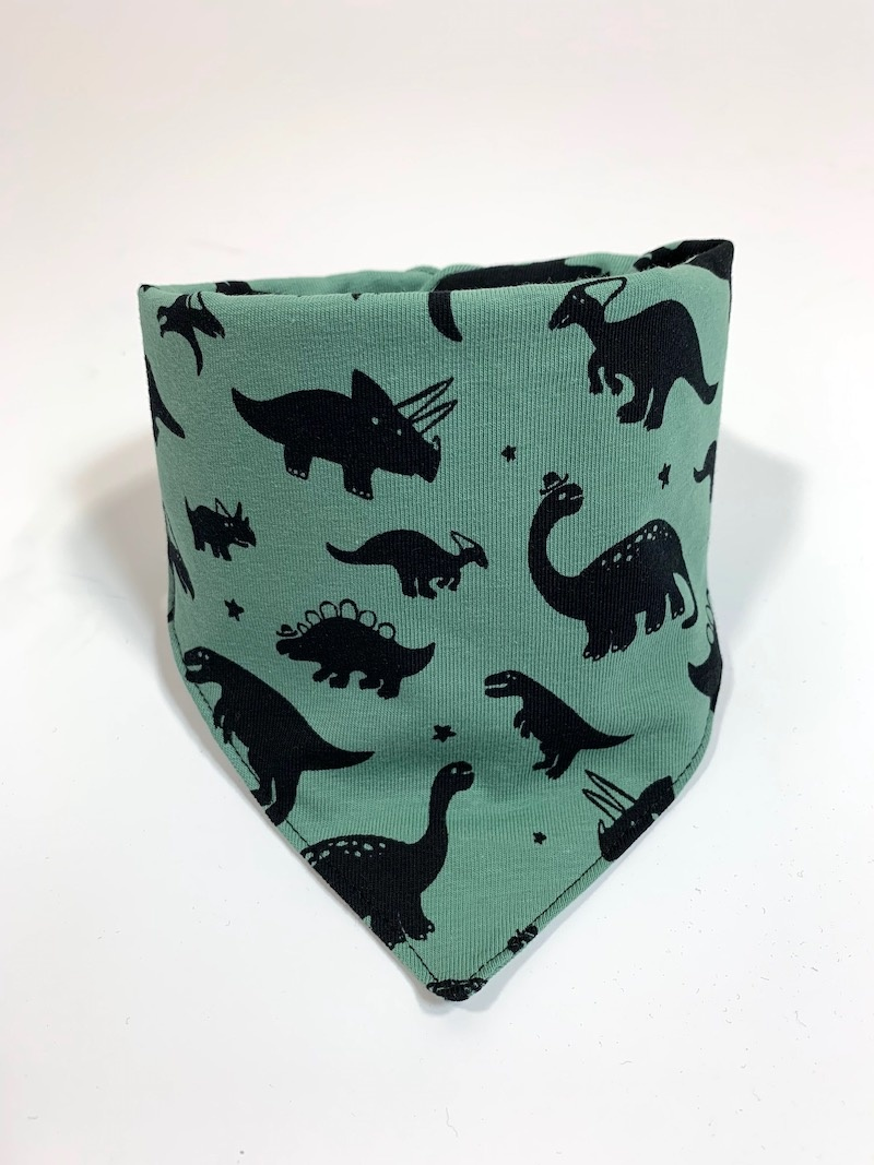 Dino Dino dusty mint / slab bandana sjaal
