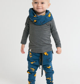 Broek - Drop crotch - Blauw - Tiny Builders