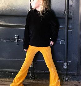 Yellow Ocher Rib / flared