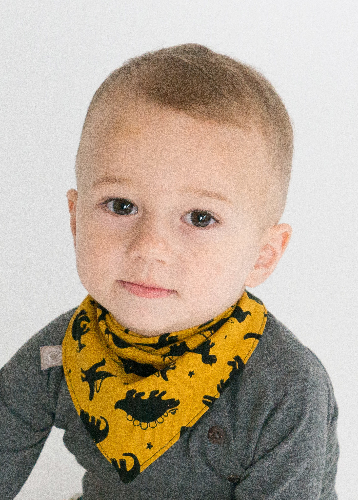 Dino dino oker / slab bandana sjaal