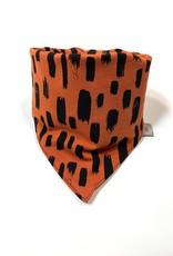 Slab bandana sjaal in roestbruine kleur