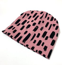 Muts - Newborn beanie - Roze - Tiny Sweeps
