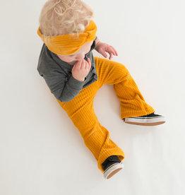 Ocher Yellow Rib / turban haarband