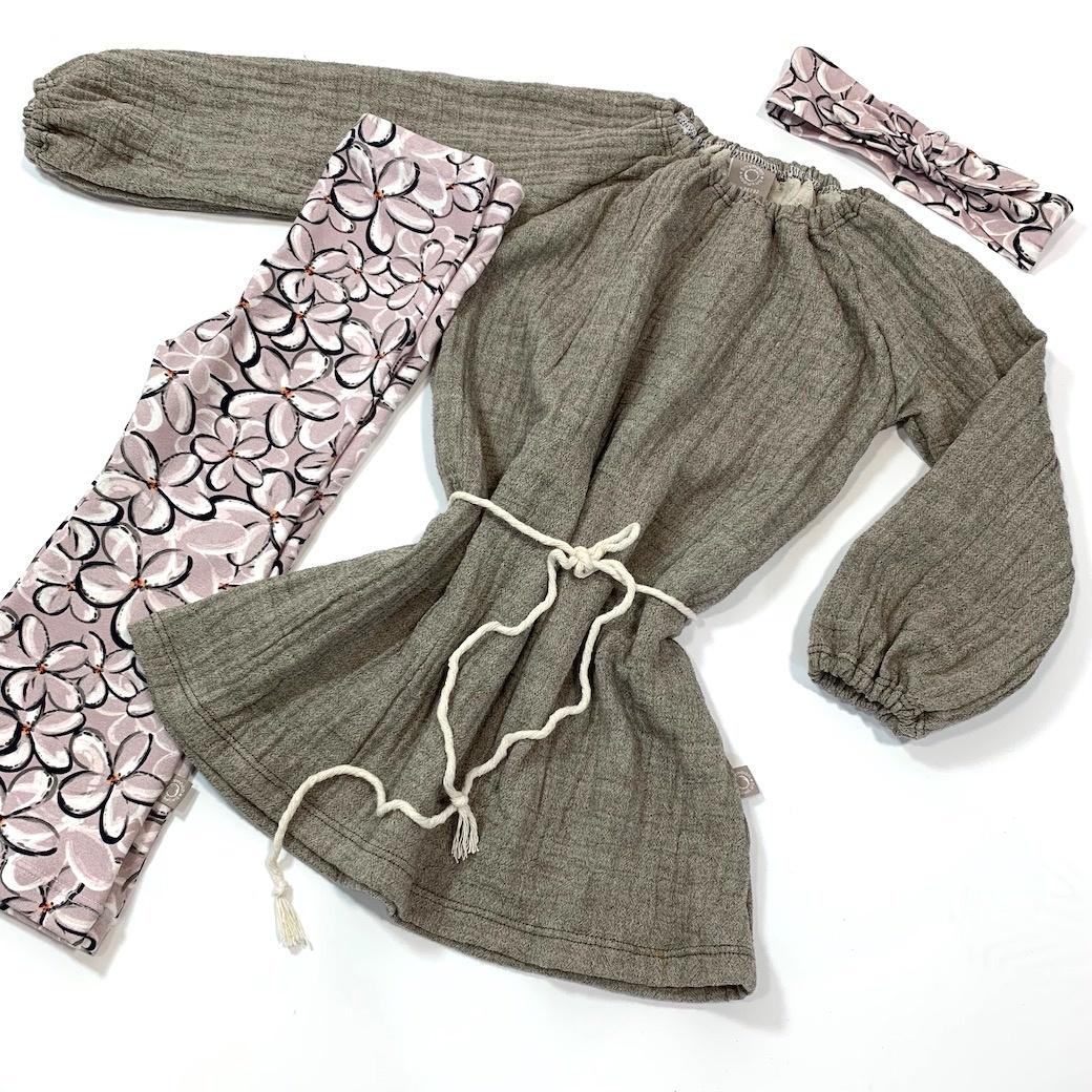 Frangi Pani flared broek  – Roze