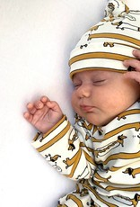 Tall Teckel  / newborn mutsje knoop / mutsje