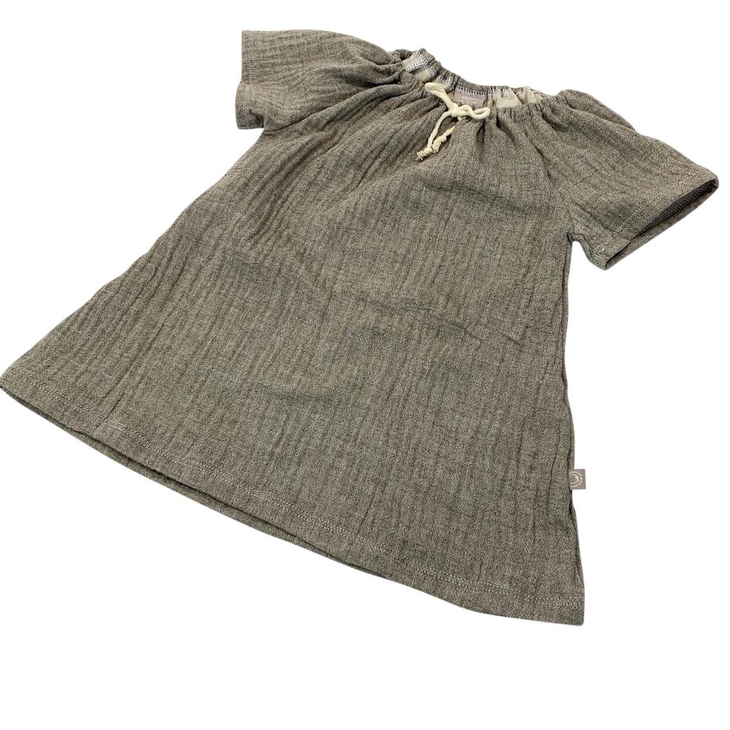 Soft Nature flare dress  k/m – Bruin