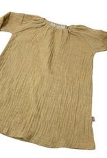 Soft Nature flare dress - oker