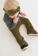 tinymoon Flared broek van brede rib in vintage green