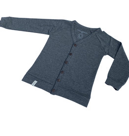 Cardigan - Vest - Grijs - Basic Grey