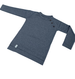 Shirt - Long sleeve - Grijs - Grey Melange