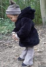 tinymoon Flared broek van brede rib in de grijs/bruine kleur morel