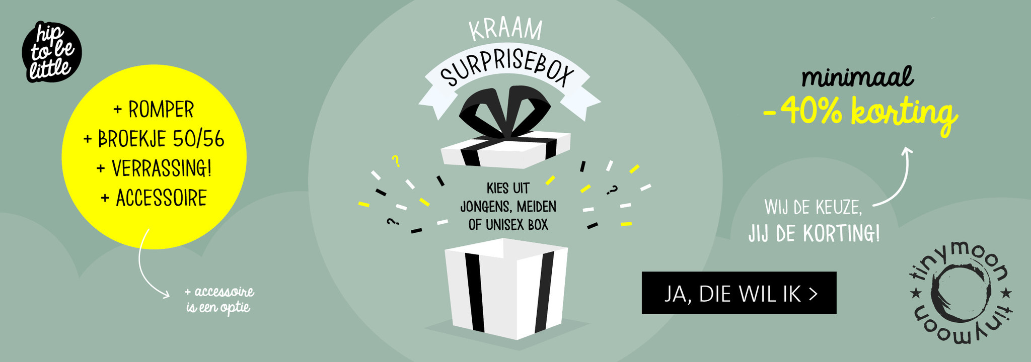 Surprise kraamboxen!