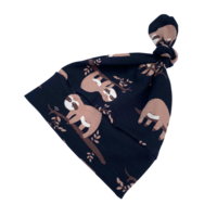 Lazy Luiaard Slaapzak – Knoop  – Zwart