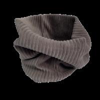 Rib drop crotch broekje in de grijs/bruine kleur morel