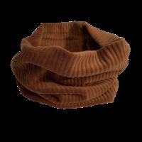 Rok van brede rib in bruin