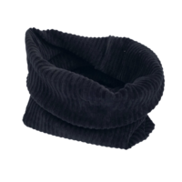 Rib drop crotch broekje in de kleur zwart