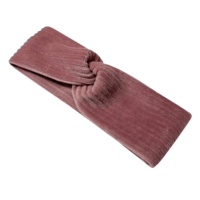 Rok van brede rib in roze