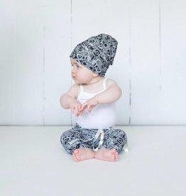 Muts - Newborn beanie - Zwartwit - Perfect Paisley