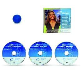 DVD van de MELT methode, 3-delig plus het zachte grote MELT balletje
