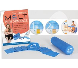 MELT MELT Performance bundel met boek, DVDset, Performance Roller en Performance Band