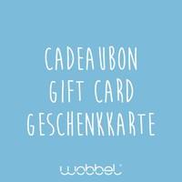 Wobbel gift card