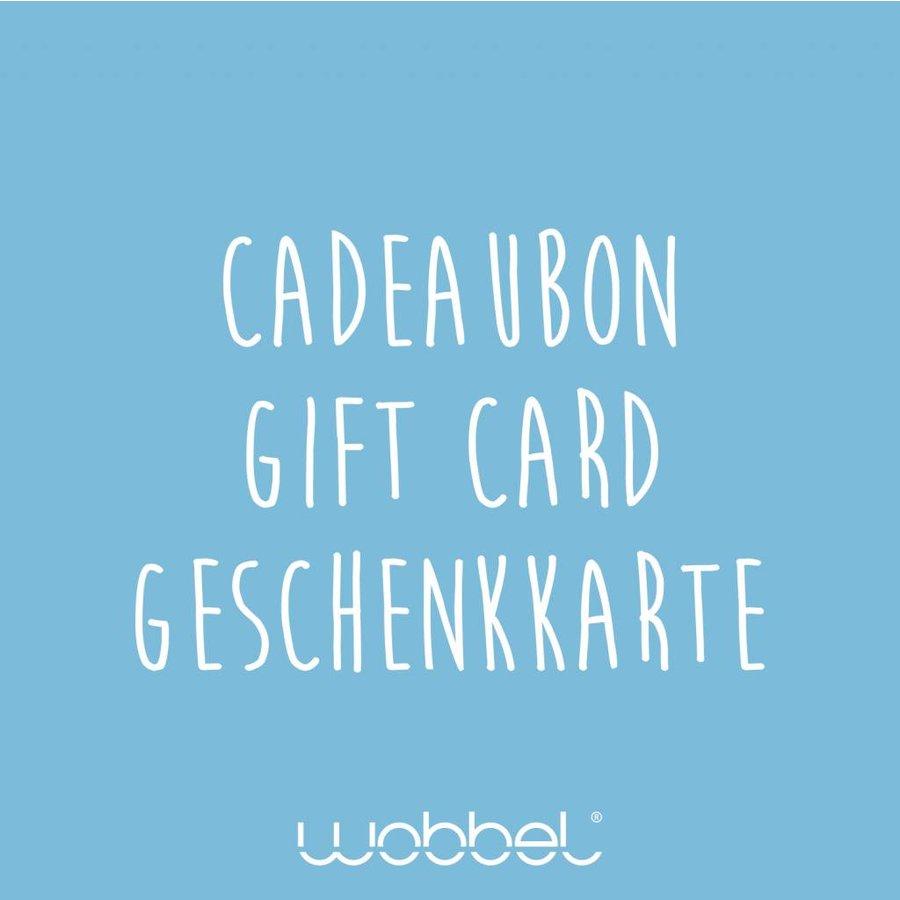 Wobbel Geschenkkarte