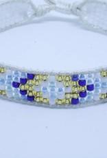 By Loffs By Loffs armband - White/blue