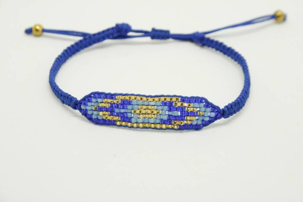 By Loffs By Loffs armband - Blue(s) all over