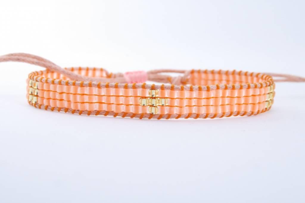 By Loffs By Loffs armband - Orange 2.0